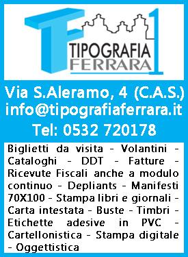 Tipografia Ferrara Sidebar