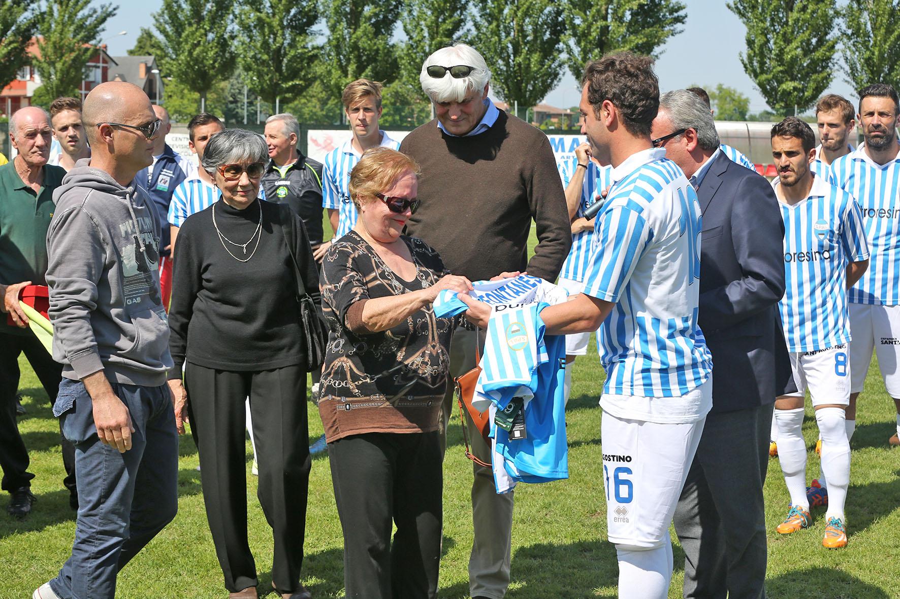 Tra foto, autografi e sorrisi, la SPAL vince 7-0 la partita in memoria di Magnani e Fontanesi
