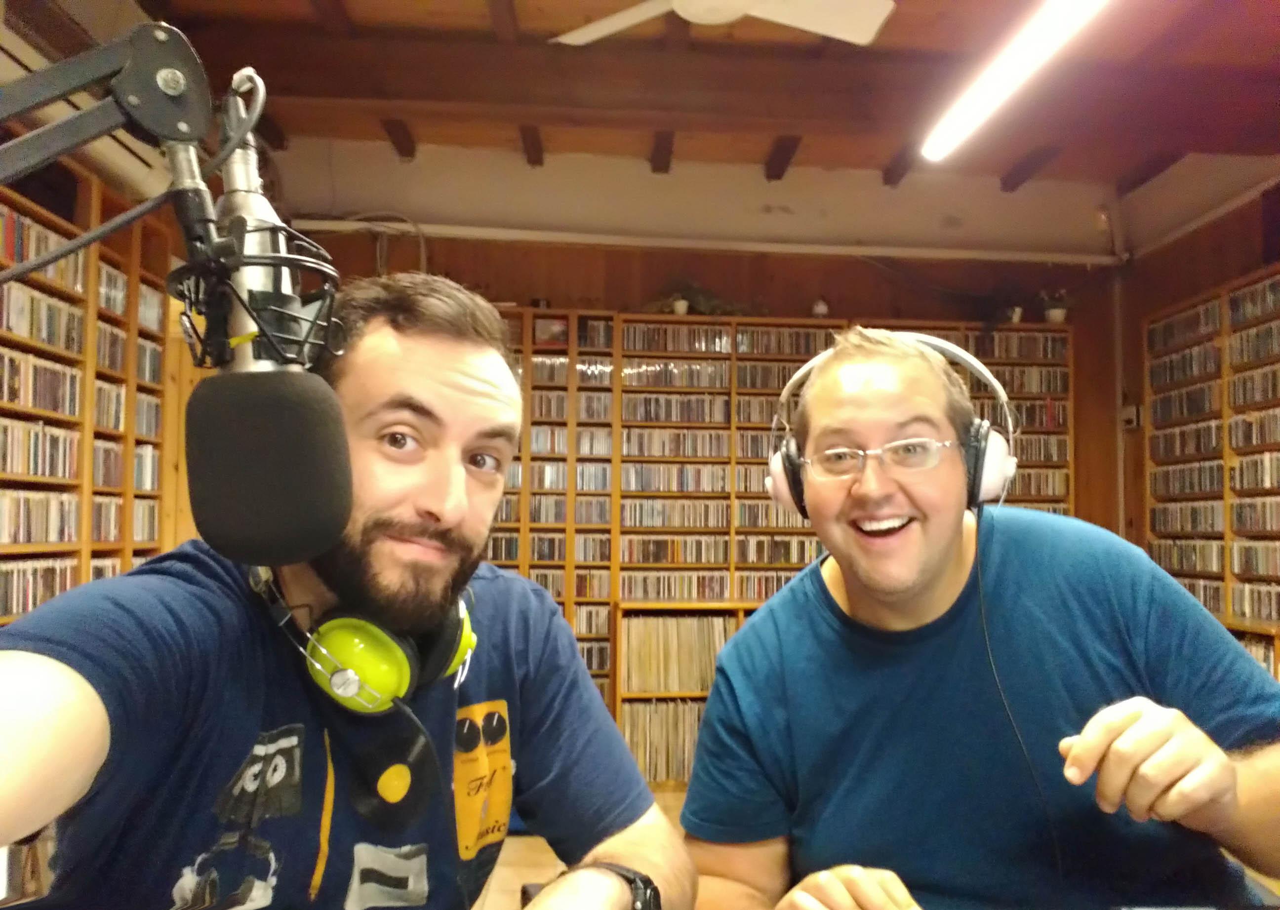 Alessandro Orlandin e Guido Foddis