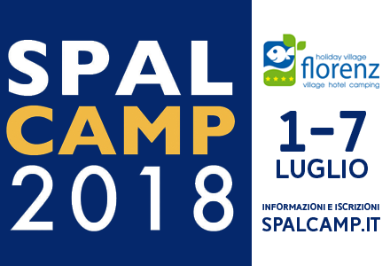 Manchette Spal Camp 2018